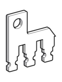 TeSys D LA9D2561 - TeSys D - branchement de mise en parallèle - 2 pôles D09...D38 , Schneider Electric
