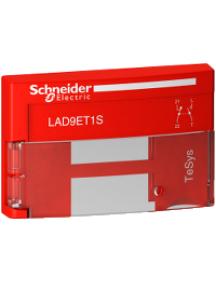 TeSys D LAD9ET1S - TeSys D - capot de sécurité rouge - pour contacteur de 09 à 65A , Schneider Electric