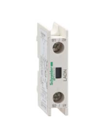 TeSys D LADN10 - TeSys D - bloc de contacts auxiliaires - 1F+0O - bornes à vis-étriers , Schneider Electric