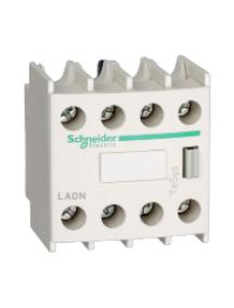 TeSys D LADN40 - TeSys D - bloc de contacts auxiliaires - 4F+0O - bornes à vis-étriers , Schneider Electric