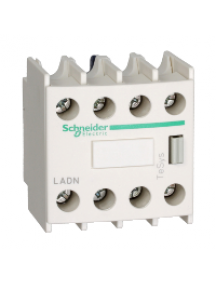 TeSys D LADN40G - contact auxiliaire BLOC CONT 4F FRONTAL , Schneider Electric