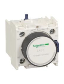 TeSys D LADR4 - TeSys D - bloc de contacts auxiliaires - 1F+1O - bornes à vis-étriers , Schneider Electric