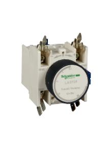 TeSys D LADR49 - TeSys D - bloc de contacts auxiliaires - 1F+1O - cosses Faston , Schneider Electric