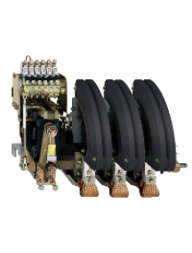 TeSys B LC1BM33F22 - TeSys LC1BM - contacteur sur barreau - 3P - AC-3 440V 1000A - bobine 110Vca , Schneider Electric