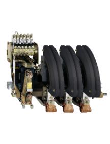 TeSys B LC1BM33M22 - TeSys LC1BM - contacteur sur barreau - 3P - AC-3 440V 1000A - bobine 220Vca , Schneider Electric