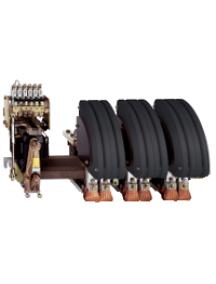 TeSys B LC1BP33M31 - TeSys LC1BP - contacteur sur barreau - 3P - AC-3 440V 1500A - bobine 220Vca , Schneider Electric