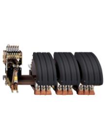 TeSys B LC1BR33M22 - TeSys LC1BR - contacteur sur barreau - 3P - AC-3 440V 1800A - bobine 220Vca , Schneider Electric