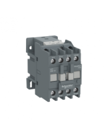 LC1E0610Q6 - EasyPact TVS contactor 3P(3 NO)  - AC-3 - <= 440 V 6A - 380 V AC coil , Schneider Electric