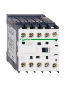 TeSys K LC1K06015M72 - TeSys LC1K - contacteur - 3P - AC-3 440V - 6A - bobine 220..230Vca , Schneider Electric