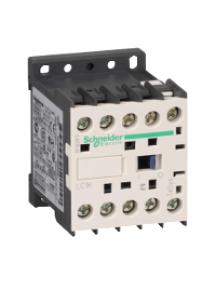 TeSys K LC1K0601Q7 - TeSys LC1K - contacteur - 3P - AC-3 440V - 6A - bobine 380..400Vca , Schneider Electric