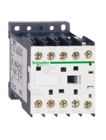 TeSys K LC1K0610W7 - TeSys LC1K - contacteur - 3P - AC-3 440V - 6A - bobine 256Vca , Schneider Electric