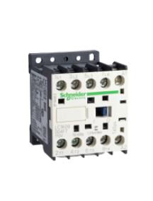 TeSys K LC1K09004L7 - TeSys LC1K - contacteur - 4P - AC-1 440V - 20A - bobine 200..208Vca , Schneider Electric
