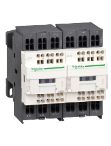 TeSys D LC2D093F7 - TeSys LC2D - contacteur inverseur - 3P - AC-3 440V - 9A - bobine 110Vca , Schneider Electric