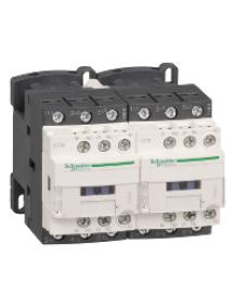 TeSys D LC2D09GD - TeSys LC2D - contacteur inverseur - 3P - AC-3 440V - 9A - bobine 125Vcc , Schneider Electric