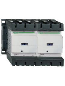 TeSys D LC2D1156F7 - TeSys LC2D - contacteur inverseur - 3P - AC-3 440V - 115A - bobine 110Vca , Schneider Electric