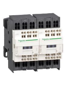 TeSys D LC2D123B7 - TeSys LC2D - contacteur inverseur - 3P - AC-3 440V - 12A - bobine 24Vca , Schneider Electric
