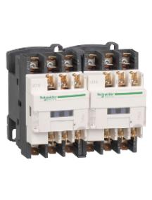 TeSys D LC2D129B7 - TeSys LC2D - contacteur inverseur - 3P - AC-3 440V - 12A - bobine 24Vca , Schneider Electric