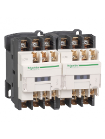 TeSys D LC2D129F7 - TeSys LC2D - contacteur inverseur - 3P - AC-3 440V - 12A - bobine 110Vca , Schneider Electric