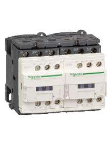 TeSys D LC2D12G7V - TeSys LC2D - contacteur inverseur - 3P - AC-3 440V - 12A - bobine 120Vca , Schneider Electric