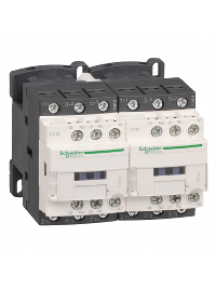 TeSys D LC2D12JD - TeSys LC2D - contacteur inverseur - 3P - AC-3 440V - 12A - bobine 12Vcc , Schneider Electric