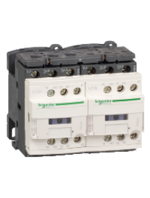 TeSys D LC2D12Q7V - TeSys LC2D - contacteur inverseur - 3P - AC-3 440V - 12A - bobine 380Vca , Schneider Electric