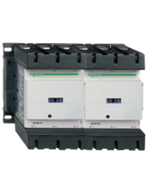 TeSys D LC2D1506M7 - contacteur inverseur TeSys LC2D 3P AC3 440V 150 A bobine 220 V CA , Schneider Electric