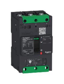 Compact LV426156 - circuit breaker Compact NSXm 80A 3P 16kA at 380/415V(IEC) compression lug , Schneider Electric