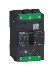 Compact LV426209 - Compact NSXm - disjoncteur - 25KA - TM160D - 3P3d - Everlink , Schneider Electric