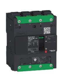 Compact LV426218 - circuit breaker Compact NSXm 125A 4P 25kA at 380/415V(IEC) EverLink lug , Schneider Electric