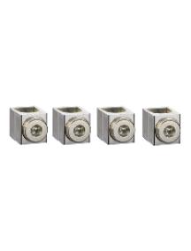 INS250 LV429228 - Compact NSX INS/INV - lot 4 bornes aluminium - <=250A - pour câbles 25 à 95mm² , Schneider Electric