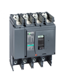 NSX400...630 LV432409 - NSX400H 4P SANS DECLENCHEUR DISJONCTEUR COMPACT , Schneider Electric