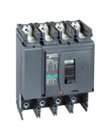 NSX400...630 LV432415 - NSX400F 4P SANS DECLENCHEUR DISJONCTEUR COMPACT , Schneider Electric