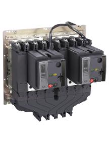 NSX400...630 LV432619 - Compact NSX accessoire inverseur de source jeu de barres couplage aval 3P, 630 A , Schneider Electric