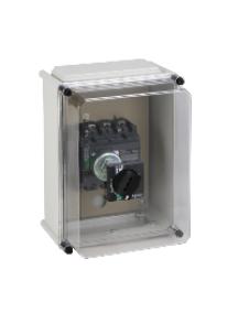NSX400...630 LV432665 - COFFRET ISOLANT CDE ROT STD PROLONGEE COFFRET ISOLANT IP55 NSX400/630 , Schneider Electric