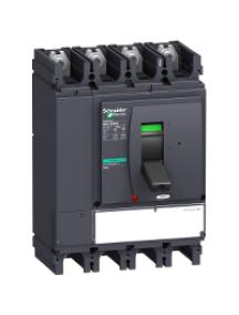 NSX400...630 LV432757 - NSX400NA MICROLOGIC 0.3 NA 4P INTERRUPTEUR-SECTIONNEUR COMPACT , Schneider Electric