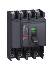 NSX400...630 LV432809 - NSX630H 4P SANS DECLENCHEUR DISJONCTEUR COMPACT , Schneider Electric