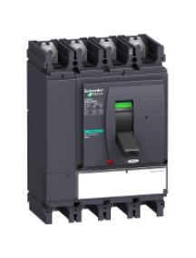 NSX400...630 LV432957 - NSX630NA MICROLOGIC 0.3 NA 4P INTERRUPTEUR-SECTIONNEUR COMPACT , Schneider Electric