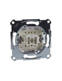 Merten inserts MTN3111-0000 - One-way switch insert 1 pole, flush-mounted, 10 AX, AC 250 V, screwl. term. , Schneider Electric