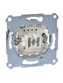 Merten inserts MTN3112-0000 - Aquadesign - mécanisme simple bipolaire - 10A/250Vca - connexion rapide , Schneider Electric