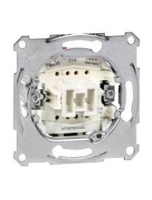 Merten inserts MTN3116-0000 - Aquadesign - mécanisme simple va-et-vient - 10AX/250Vca - connexion rapide , Schneider Electric