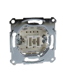 Merten inserts MTN3117-0000 - Aquadesign - mécanisme simple permutateur - 10AX/250Vca - connexion rapide , Schneider Electric