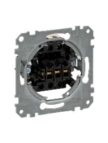Merten inserts MTN311900 - Rocker triple button insert 10 A, 3x make contacts, 1-pole , Schneider Electric