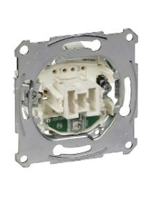 Merten inserts MTN3137-0000 - Intermediate swit.insrt 1P w. locat.light,flush-mntd,10 AX, AC 250 V, screwl. , Schneider Electric