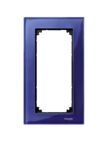 MTN4025-3278 - M-Plan - plaque de finition pour prise rasoir - verre saphir , Schneider Electric
