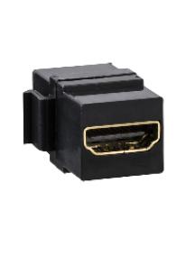 Merten MTN4583-0001 - Merten connecteur Keystone HDMI pour support adaptateur Keystone MTN4580-0001 , Schneider Electric