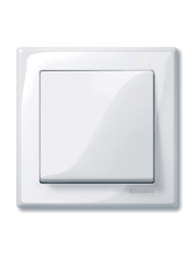 MTN478125 - M-Smart frame, 1-gang, active white, glossy , Schneider Electric