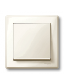 MTN478144 - M-Smart frame, 1-gang, white, glossy , Schneider Electric
