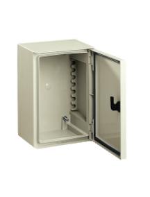 NSYPLM32TG - Thalassa PLM - Coffret polycabo.310x215x160 - Porte transparente - IP66 Ral 7035 , Schneider Electric