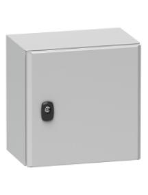 NSYS3D101030 - Spacial S3D - H1000xL1000xP300 - porte pleine , Schneider Electric