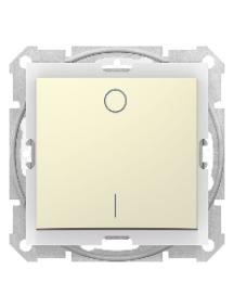 Sedna SDN0200347 - Sedna - 2pole switch - 10AX IP44 without frame beige , Schneider Electric